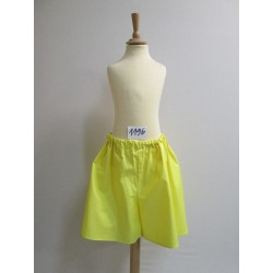 SHORT JAUNE ENFANT