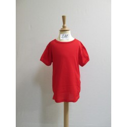 TEE-SHIRT ROUGE ENFANT