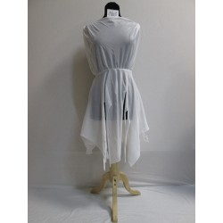 ROBE BLANCHE FILLE